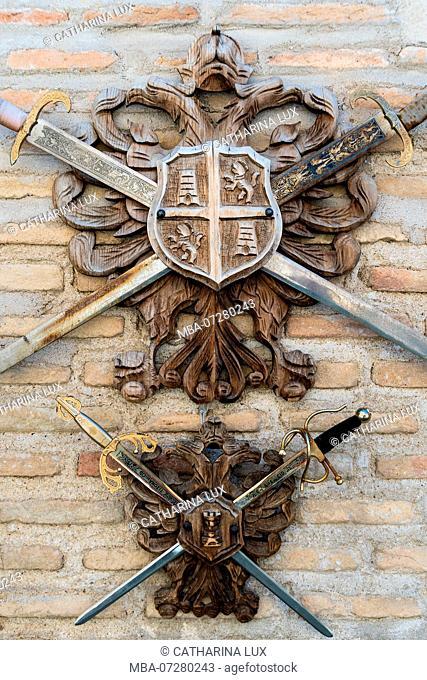 Spain, Toledo, Toledan steel blades, craft tradition