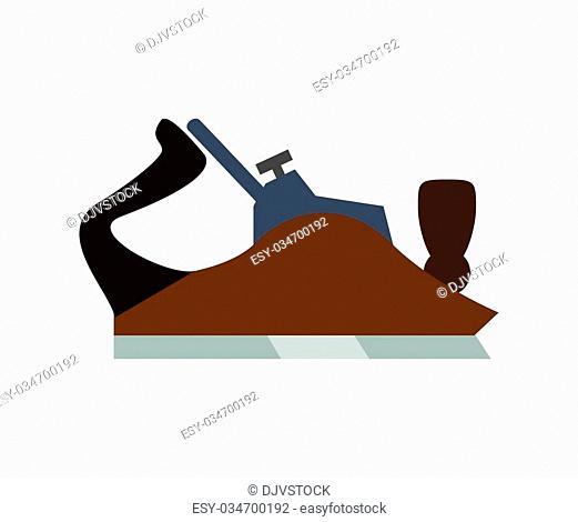 Tools design over white background, vector illustration