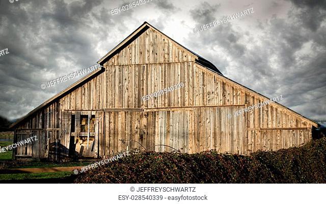 An old barn, landscape, Color Image, USA