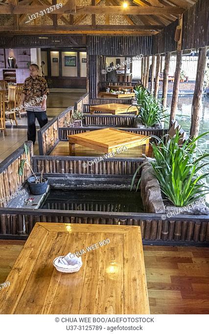 A restaurant in Ciwidey, Bandung, Indonesia