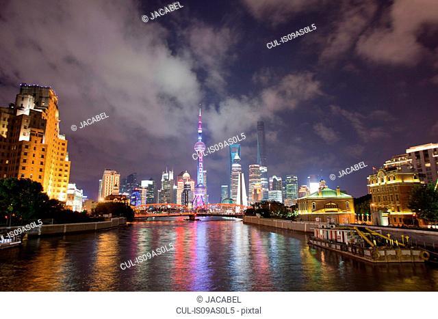 Shanghai skyline, Shanghai, China