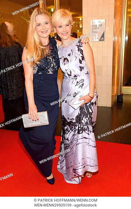 Leipziger Opernball (opera ball) at Oper Leipzig. Featuring: Kerstin Ohlemann, Andrea Kathrin Loewig Where: Leipzig, Germany When: 10 Sep 2016 Credit: Patrick...