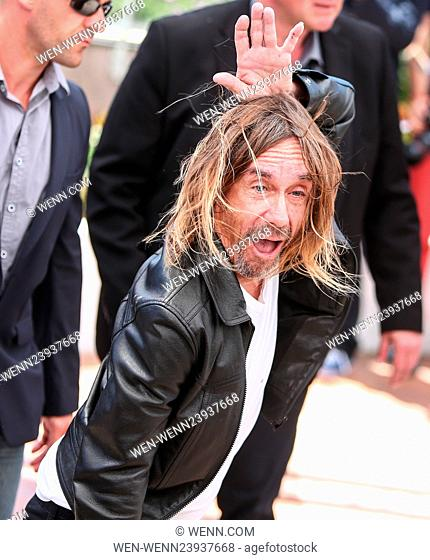 """""""""""""""Gimme Danger"""""""" photo call during the 69th Cannes Film Festival Featuring: Iggy Pop Where: Cannes, France When: 19 May 2016 Credit: WENN.com"""