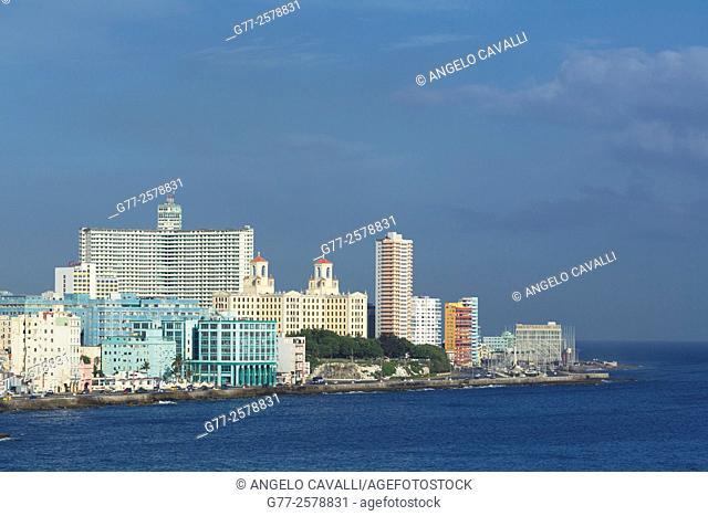 The Vedado District, Havana, Cuba