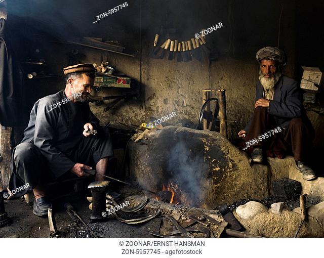Blacksmiths in Afghanistan