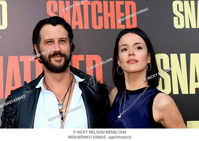 World premiere of 'Snatched' held at the Regency Village Theater in Los Angeles - Arrivals Featuring: Stefan Kapicic, Ivana Horvat Where: Westwood, California
