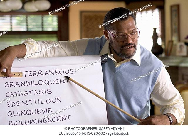 Jan 04, 2006; Hollywood, CA, USA; Image from Doug Atchison's on the set of his drama 'Akeelah and the Bee' starring LAURENCE FISHBURNE as Dr