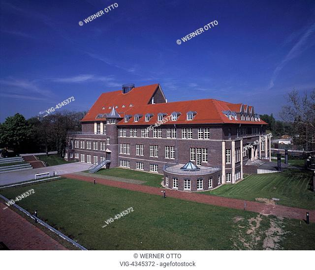 D-Oberhausen, Ruhrgebiet, Nordrhein-Westfalen, TZU, Technologiezentrum Umweltschutz, IBA-Projekt, Internationale Bauausstellung Emscherpark