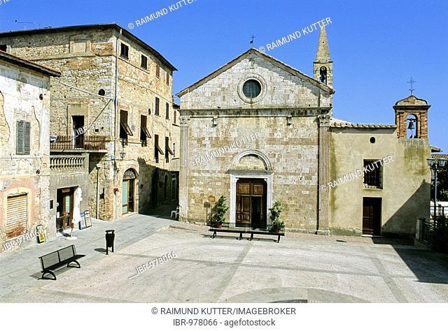 Chiesa San Giovanni Battista, Magliano in Tuscany, Province of Grosseto, Tuscany, Italy, Europe