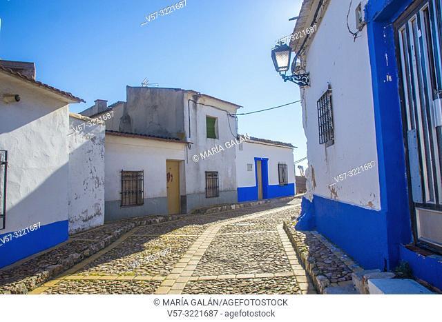 Street. Campo de Criptana, Ciudad Real province, Castilla La Mancha, Spain
