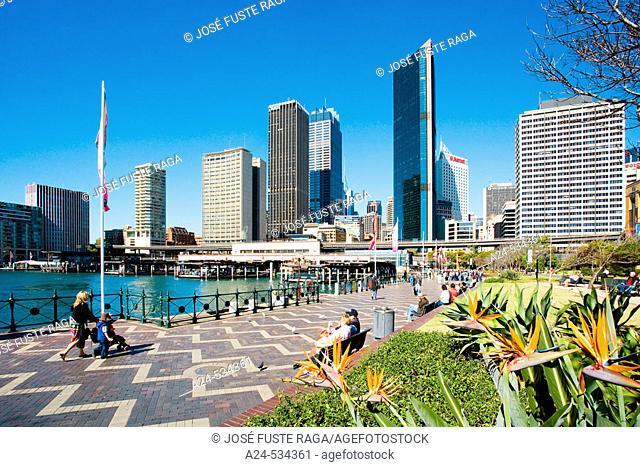 Sydney Cove. Sydney City. New South Wales. Australia. April 2006