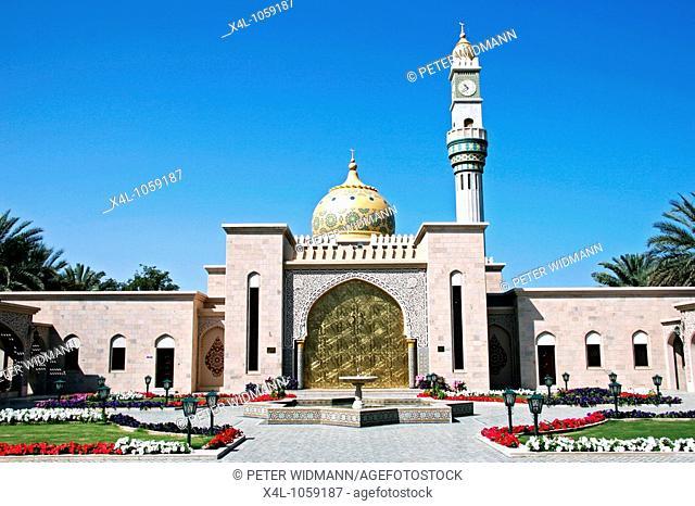 Oman, Muscat, Zawawi Mosque in Muscat