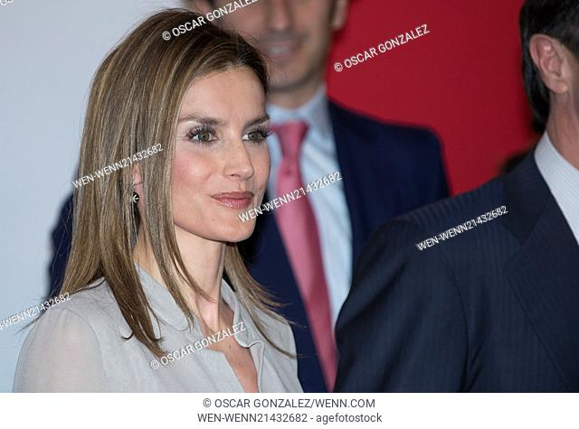Princess Letizia of Spain attends the Fashion National Awards 1st Edition at the Reina Sofia Museum Featuring: Princess Letizia of Spain Where: Madrid