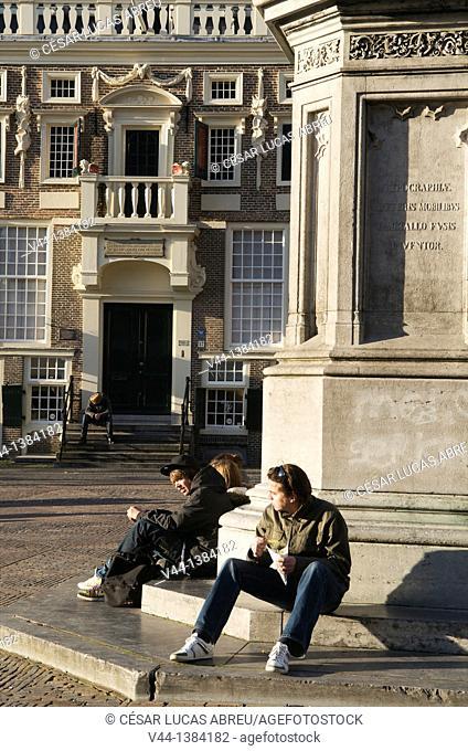 Grote Markt square. Haarlem, Netherlands