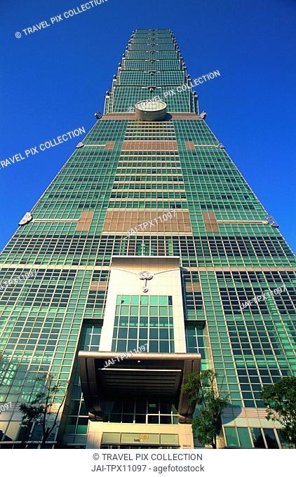 Taiwan, Taipei, Taipei 101 Skyscraper 1667 feet