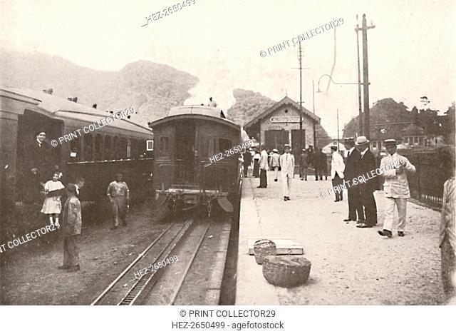 'Alto da Serra: Petropolis - Leopoldina Railway', 1914. Artist: Unknown