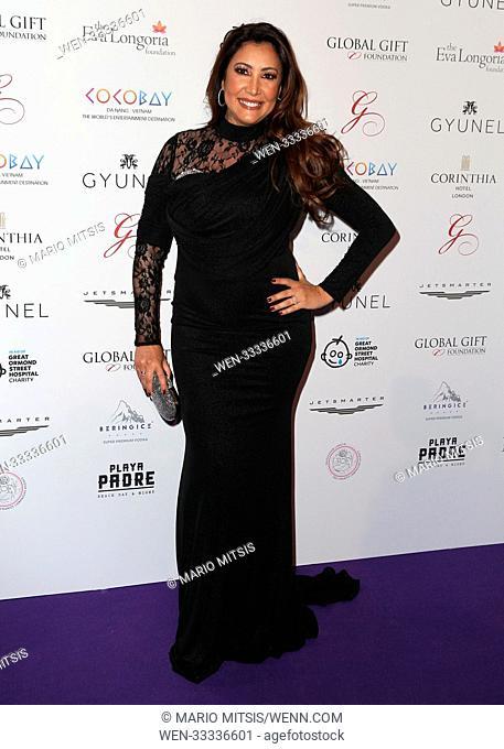 The Global Gift Gala London held at the Corinthia Hotel - Arrivals Featuring: Maria Bravo Where: London, United Kingdom When: 18 Nov 2017 Credit: Mario...