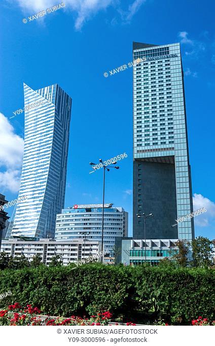 Financial center, Warsaw, Poland
