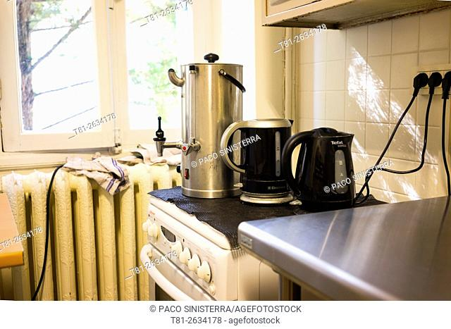 Coffee in the kitchen, Avignon France