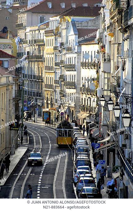 Rua de Sao Paulo. Lisbon, Portugal
