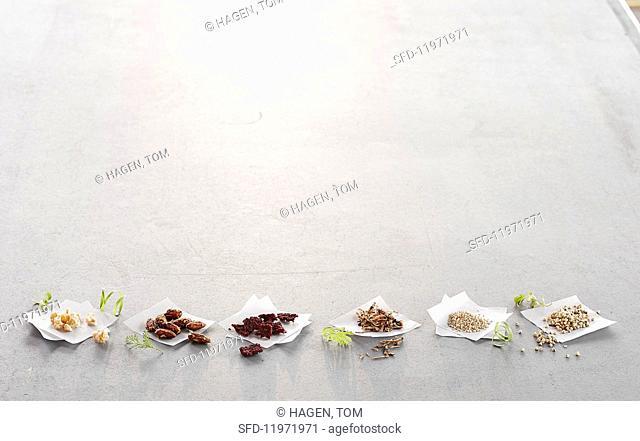 Various super foods