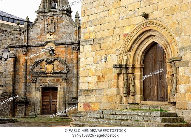 Church of Santa Maria del Azogue and chapel of San Cayetano, Puebla de Sanabria, Zamora, Spain