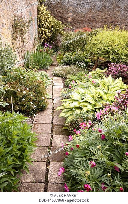 Scotland, Abbotsford House Garden