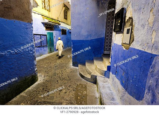 Chefchaouen, Morocco. The blue medina