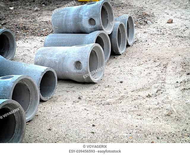 industrial concrete sewage drainage pipe for building construction