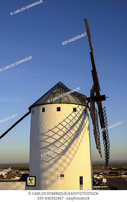 Windmill in Campo de Criptama Ciudad Real Don Quixote land
