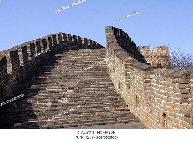The Mutianyu section of the Great Wall of China, the Huairour District of Beijing