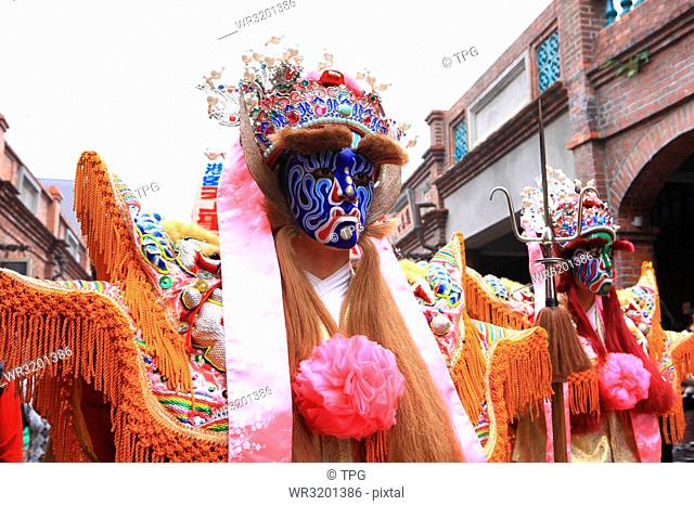 New Taipei City--Mazu Around Sanxia Old Street--Official Head