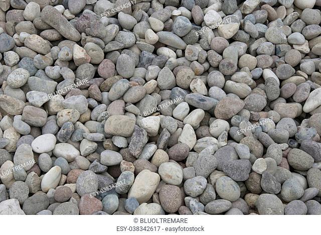 pile of grey building little gravel stones