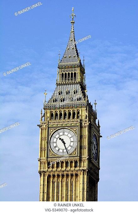 GBR , GREAT BRITAIN / ENGLAND / UK : Big Ben in London , 11.10.2015 - London, London, United Kingdom, 11/10/2015