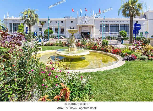 Casino Barrière, Menton, Cote d'Azur, French Riviera, France