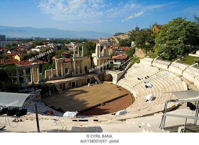 Bulgaria - North-West Region - Rhodope Mountains - Plovdiv - Old City - Roman Theatre