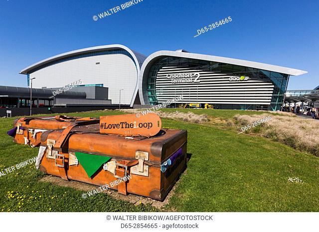 Ireland, Dublin, Dublin International Airport, Terminal 2, exterior