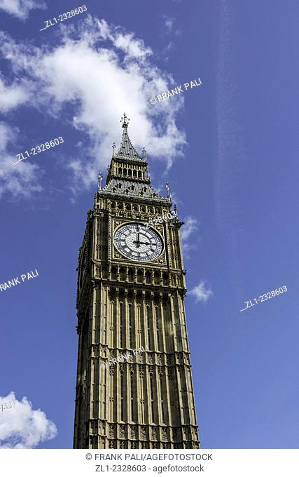 Big Ben is the nickname for the Great Bell of the clock at the north end of the Palace of Westminster in London, and often extended to refer to the clock and...