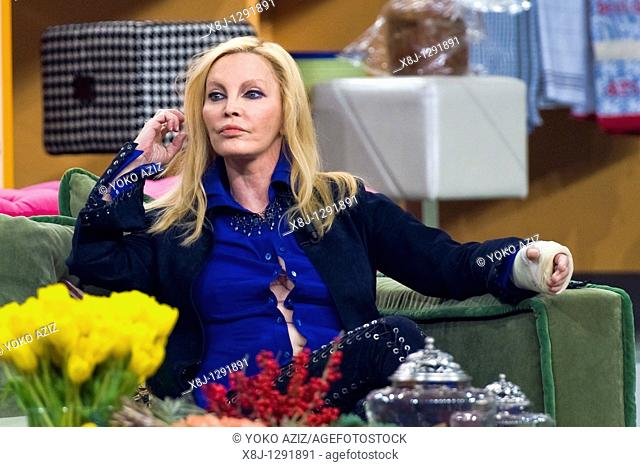 Nicoletta Strambelli alias Patty Pravo, Telecast 'Kalispera', Canale 5, Milan, Italy, 2010