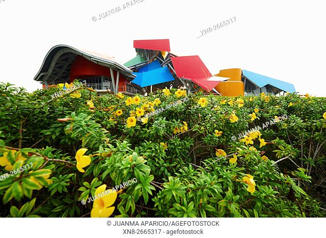 The Biodiversity Museum by Frank O. Gehry, Panama, Republic of Panama, Central America