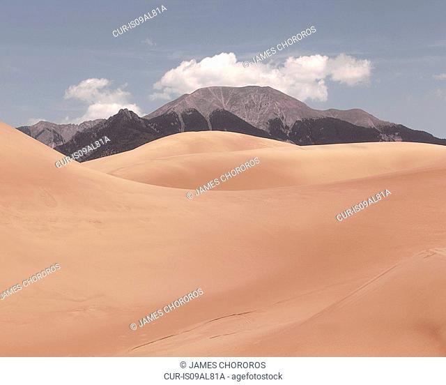 Landscape, Sand Dune National Park, Colorado, USA