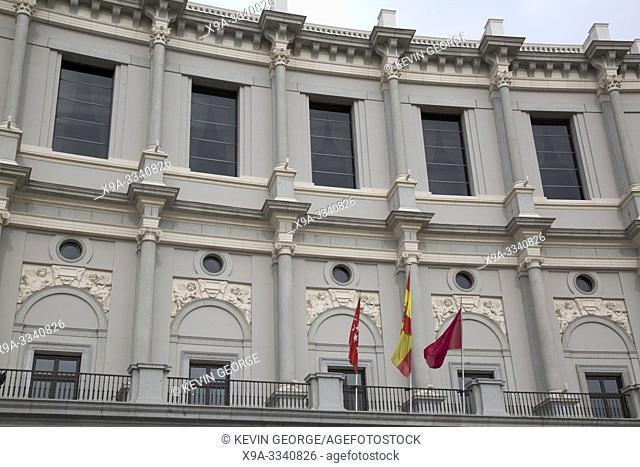 Teatro Royal Theatre, Plaza de Oriente Square, Madrid, Spain