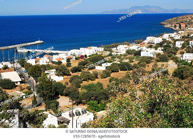 the village of Pali - Nisyros Island - Greece