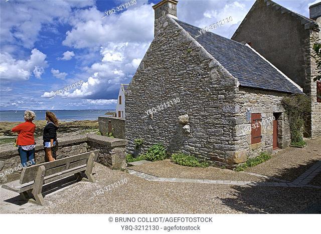 Customs shelter at Piriac sur Mer, Loire Atlantique, Brittany, France