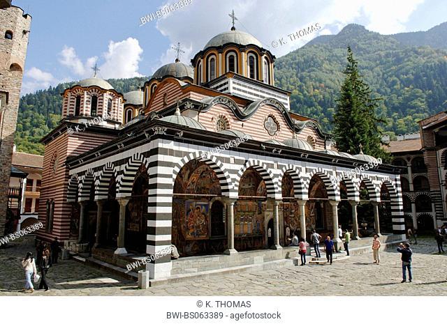 Rila monastery, Bulgaria, Rila Mountains, Rila