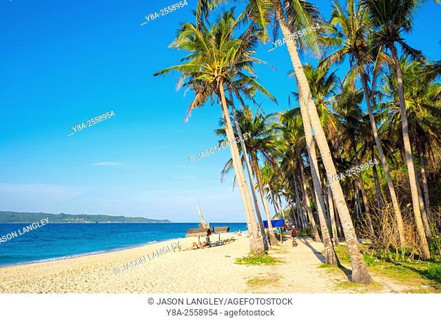 Puka Shell Beach, Boracay Island, Aklan Province, Western Visayas, Philippines