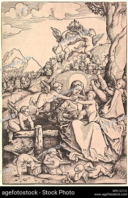 The Virgin and Child with Eight Angels in a Landscape. Artist: Hans Baldung (called Hans Baldung Grien) (German, Schwäbisch Gmünd (?) 1484/85-1545 Strasbourg...