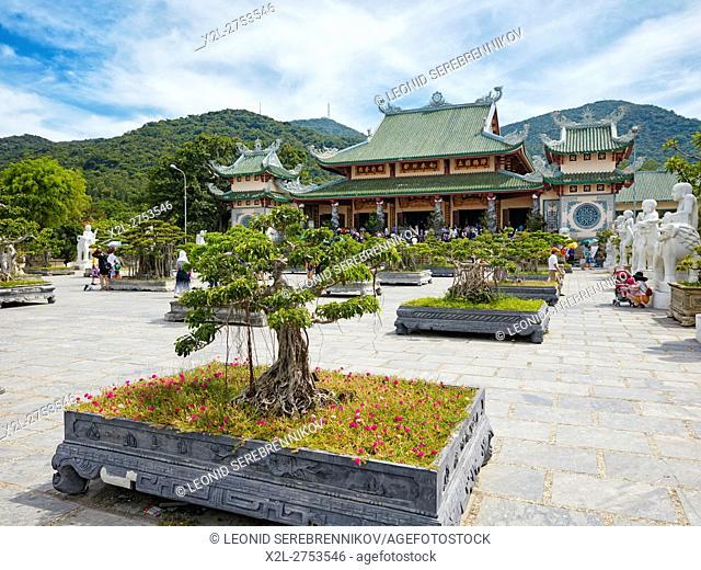 Bonsai Garden at Linh Ung Pagoda, Da Nang, Vietnam