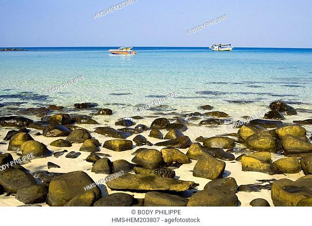 Thailand, Ko Kood Island, Klong Chao Beach