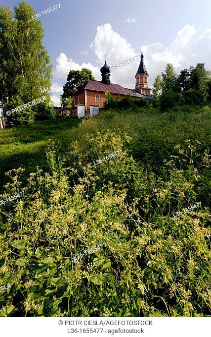 Orthodox church at Mostowlany  Podlasie region  Poland